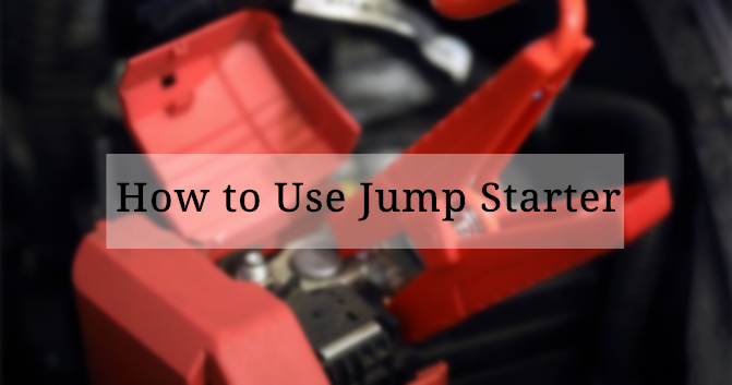 Guide of How to Use Jump Starter