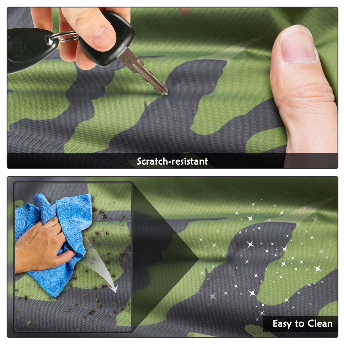 Audew Camouflage Car Cover