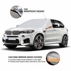 Audew Car Sun Shade, Windshield Cover SunShade, Windproof Dust-proof